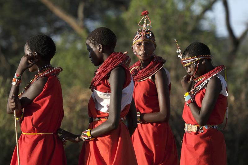 4 Masai women-3